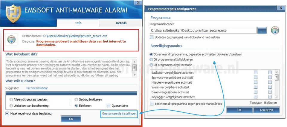 Emsisoft Anti-Malware Alarm!
