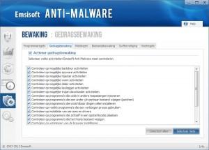 Emsisoft-Anti-Malware-gedragsbewaking